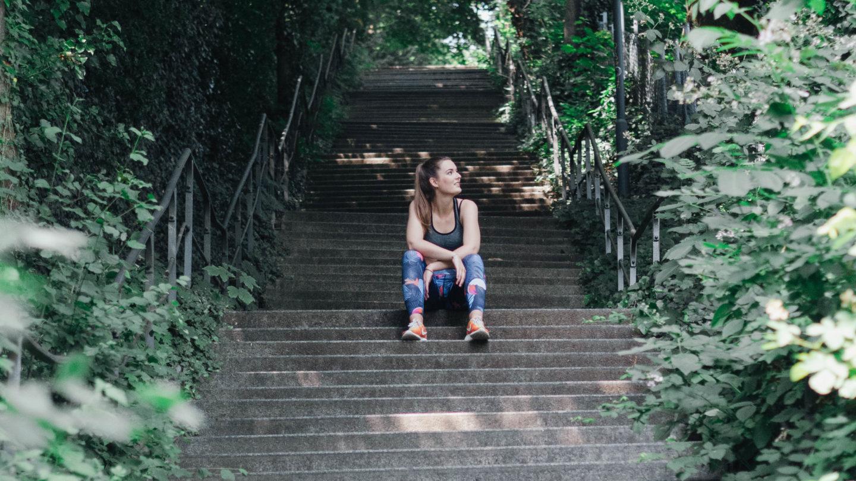 Halbmarathon III : Zwischen scheitern und weiterkämpfen.