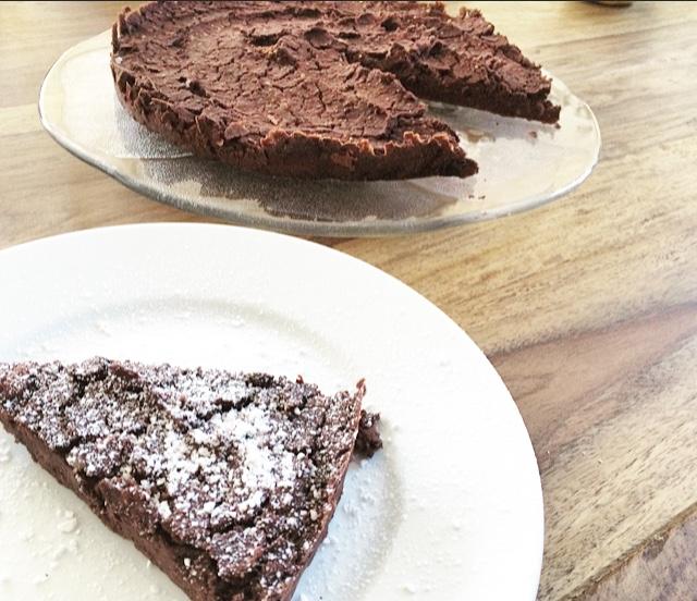 Glutenfreier Brownie