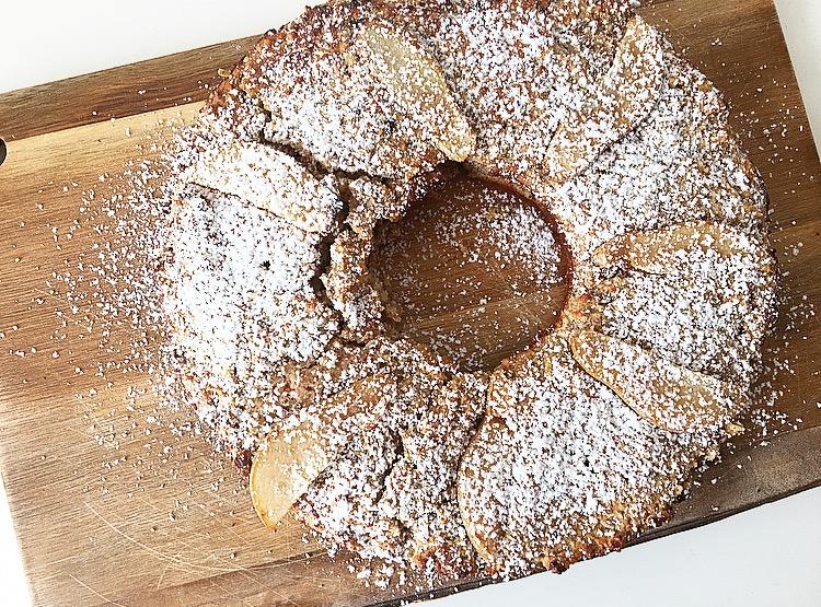 Vanille-Birnen-Kuchen