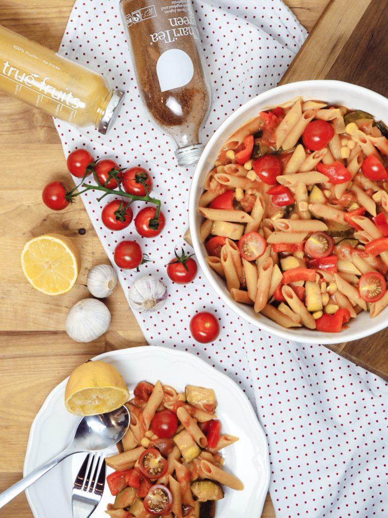One-Pot-Pasta – Vegan und Glutenfrei