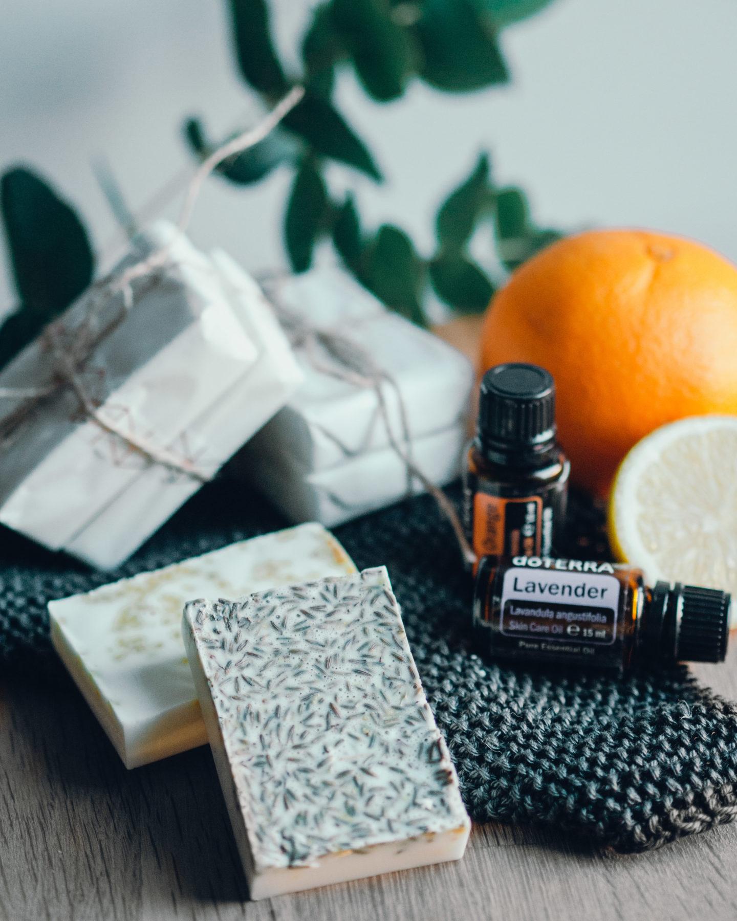 Wie du deine eigene Seife machst – Zitrone-Orange & Lavendel-Zitrone